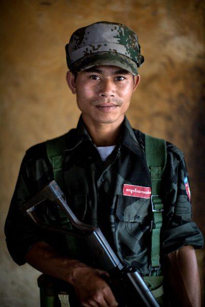 Kachin Freiheitskämpfer, Burma