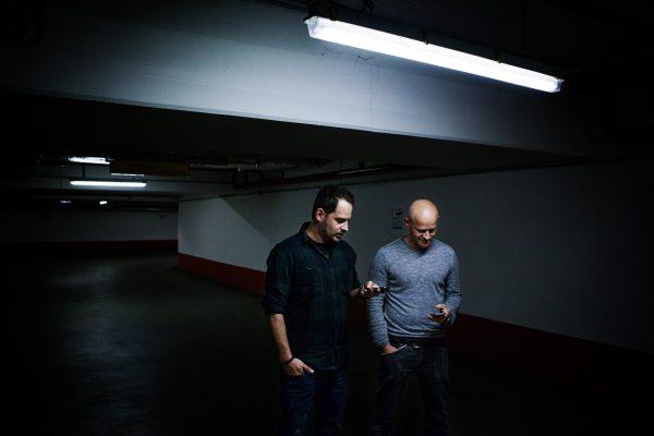 Moritz Bleibtreu und Jürgen Vogel